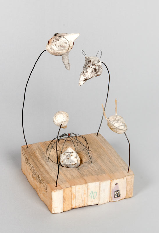 Lisa kokin small sculpture book art
